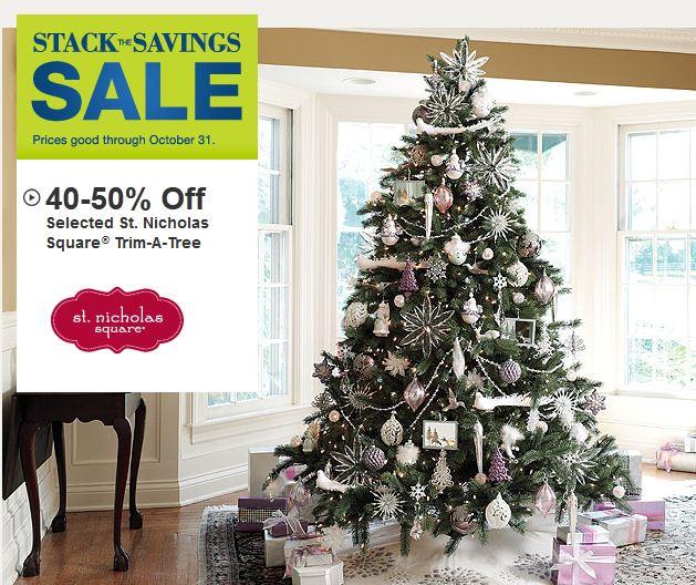 Kohl's: Huge Christmas Decor Sale!! 50% Off